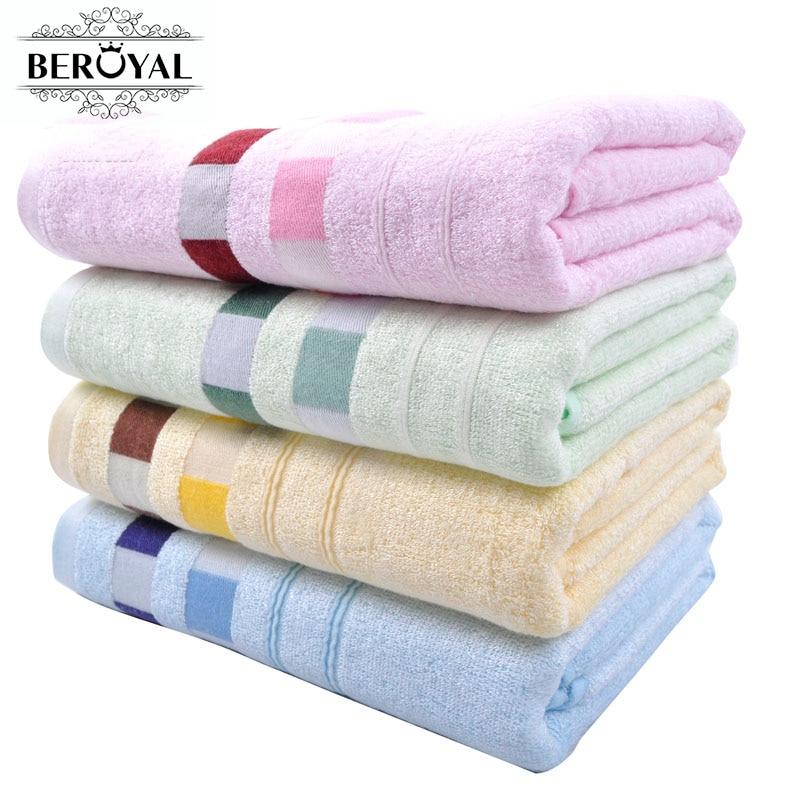 חדש 2018-140 * 70cm במבוק מגבת מגבת אמבטיה - טקסטיל בית