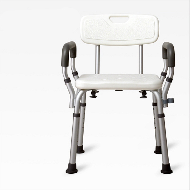 Wall Mounted Shower Seats Aluminum Alloy Bbackrest Bath Stool Thickening Antiskid Bathroom Chair For The Elderly Pregnant Women And Disabled Persons