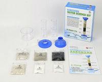 Tecnologia DIY água limpa ciência DIY Kit de 10 +, Crianças ciência verde Kit Experiment aprender limpo reutilização de purificação de água água