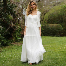 Bbonlinedress A-Line Sweetheart Satin with Tulle Beach Wedding Dress Lace Wrap Floor Length Bridal Gowns Vestido de novia