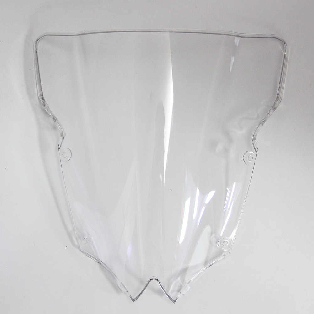 Black ABS Windshield Windscreen Wind Glass For Yamaha YZF R6 YZF-R6 2008-2016