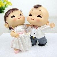 2014 decoración de la boda casa accesorio Tango Dancing pareja figurine wedding cake toppers favores shippping libre