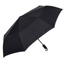 Взрослых Parapluie Зонтик Мужской Полная Автоматическая Полностью Автоматический Складной Дождь Солнце Бизнес Складной Зонтики D9440