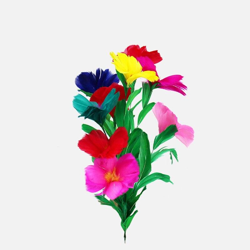 Mazzo Di Fiori Magico.Piuma Fiore Decorazione Floreale Solo Un Mazzo Di Fiori Trucchi