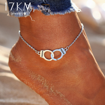 Silver Bohemian Cuff Anklet