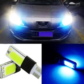2pcs Ultra Bright COB T10 W5W Car LED Decoration Lamp DC12V Decoding Clearance Width Light Daytime Running Light Car styling image
