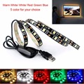 2017 USB Power 5V 27LED 5050SMD TV Backlight Bias Lighting for HDTV Flexible Home RGB Strip Light IP65 Waterproof