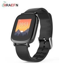 Hraefn L42A монитор Сердечного ритма Смарт-Браслет Красочный Дисплей Фитнес-трекер Bluetooth Умный Браслет спортивные часы для Android ios