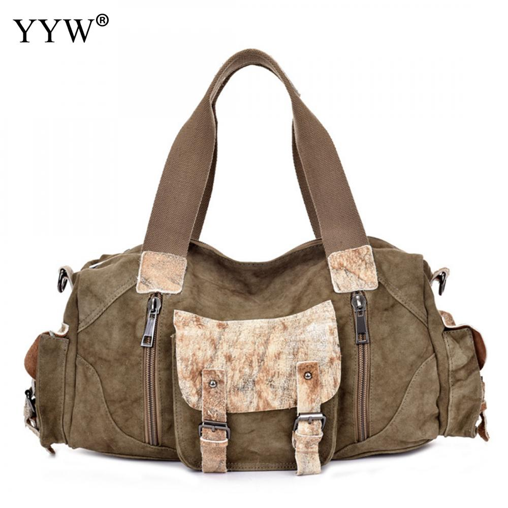 Tote Bag for Men Khaki Women Crossbody Shoulder Bags Fashion Canvas Unisex Handbags Large Capacity Male Soft Top-Handle Bag augur large capacity men women crossbody bag for pad handbags canvas shoulder bag messenger bag
