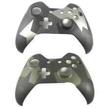 Dla Xbox One kontroler bezprzewodowy Camo kamuflaż przednia płyta czołowa edycja limitowana obudowa górna obudowa Shell wymiana obudowy