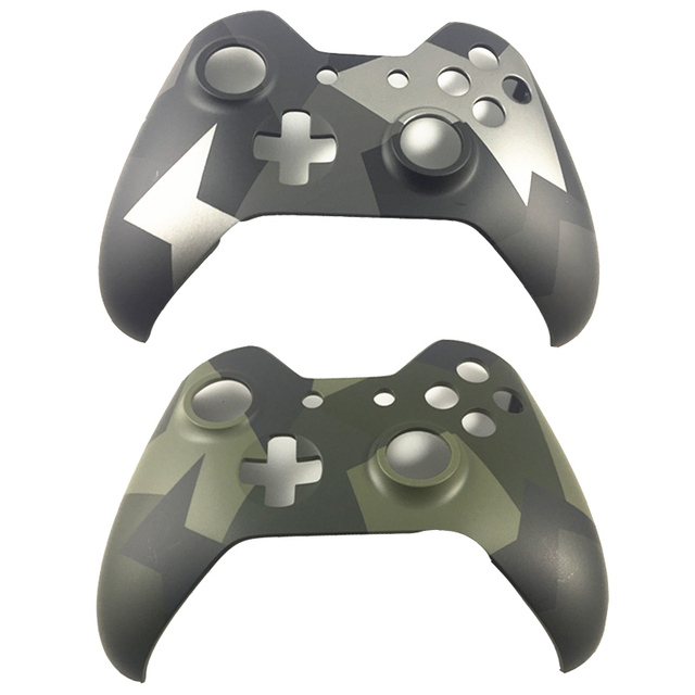 For Xbox One Wireless Controller Camo Camouflage Front Faceplate Limited Edition Housing Top UP Shell Case Cover Replacement