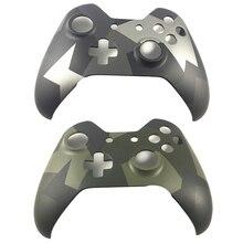 Xbox One Kablosuz Denetleyici için Camo Kamuflaj Ön Yüz Plakası Sınırlı Sayıda Konut Yukarı Shell Kılıf Kapak Değiştirme