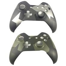 Xbox one 무선 컨트롤러 카모 위장 전면 페이스 플레이트 한정판 하우징 상단 셸 케이스 커버 교체