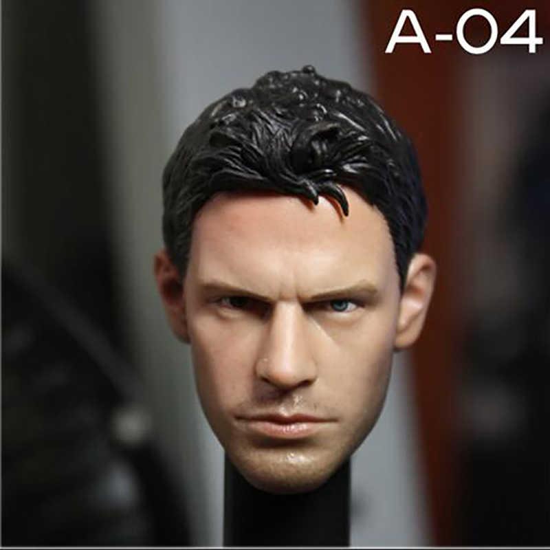 """Veryhot 1/6 báscula cuerpo masculino hombro estrecho para 1:6 1/6 báscula cabeza esculpir 12 """"figura de acción PVC V-004 Chris Hottoys tallado conjunto"""