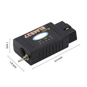 Image 3 - Elm 327 usb bluetooth funciona em forscan para ford hs can/ms pode v1.5 carro obd2 ferramenta de diagnóstico elm327 usb ftdi chip para opcional