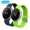 Pulseira Pulseira Inteligente Espelho BT4.0 Cardíaca Smartwatch Tela UW1S Chamada SMS Lembrar levantar a Mão light up Para IOS Android
