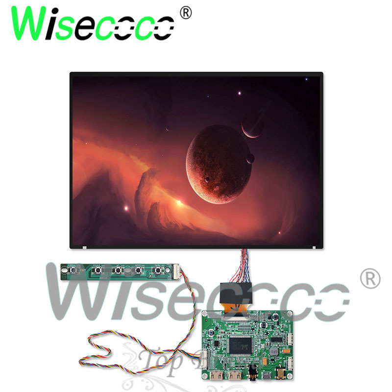 10.1inch 2k TFT lcd display screen suitable for laptop raspberry pi orange pi 2560*1600 with DC 12v double HDMI driver board