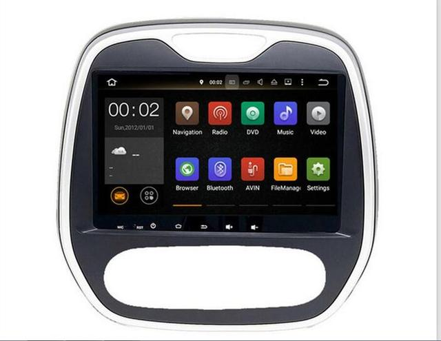 GIFTS ROM 32GB 8CORE Android 6.0 Fit Renault Captur /CLIO /Samsung QM3 2011 2012 2013-2015 Car DVD Player Navigation GPS Radio