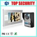 Good quality 7 inch color video door phone door bell video intercom system with IR night version camera