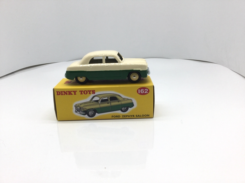 1:43 Rare Atlas Diecast Dinky Toys 162 FORD ZEPHYE SALOON CAR MODEL COLLECTION rare gray 1 18 autoart aa maybach 57 swb diecast model car luxury collection limitied edition