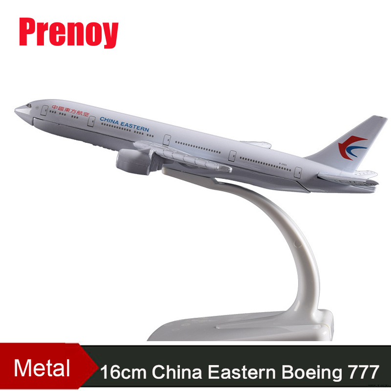 16cm China Eastern Airlines B777 Alloy Aircraft Model Boeing 777 Airbus Airways Eastern International Aviation Aircraft Model