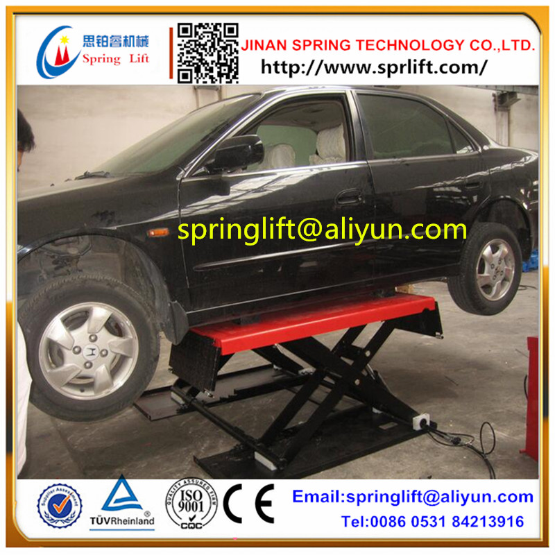 2019 Hot Sale Auto Scissor Lift Car Hoist 1000mm Height 3ton Car