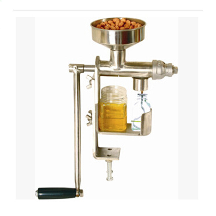 Free shipping Hot Manual Oil Press Peanut Nuts Seeds Oil Press/Expeller Oil Extractor Machine automatic nut seeds oil expeller cold hot press machine oil extractor dispenser 350w canola oil press machine