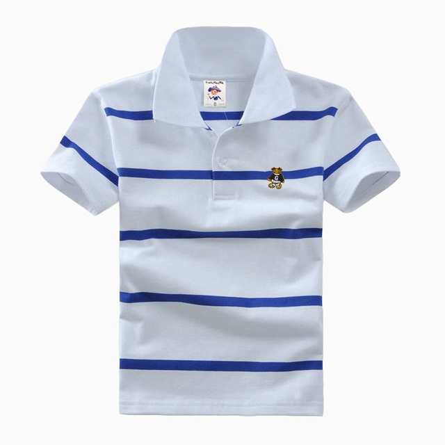 9575a7ae Top quality boys girls polo shirt for kids brand baby little toddler big boy  clothes summer short sleeve cotton t-shirts