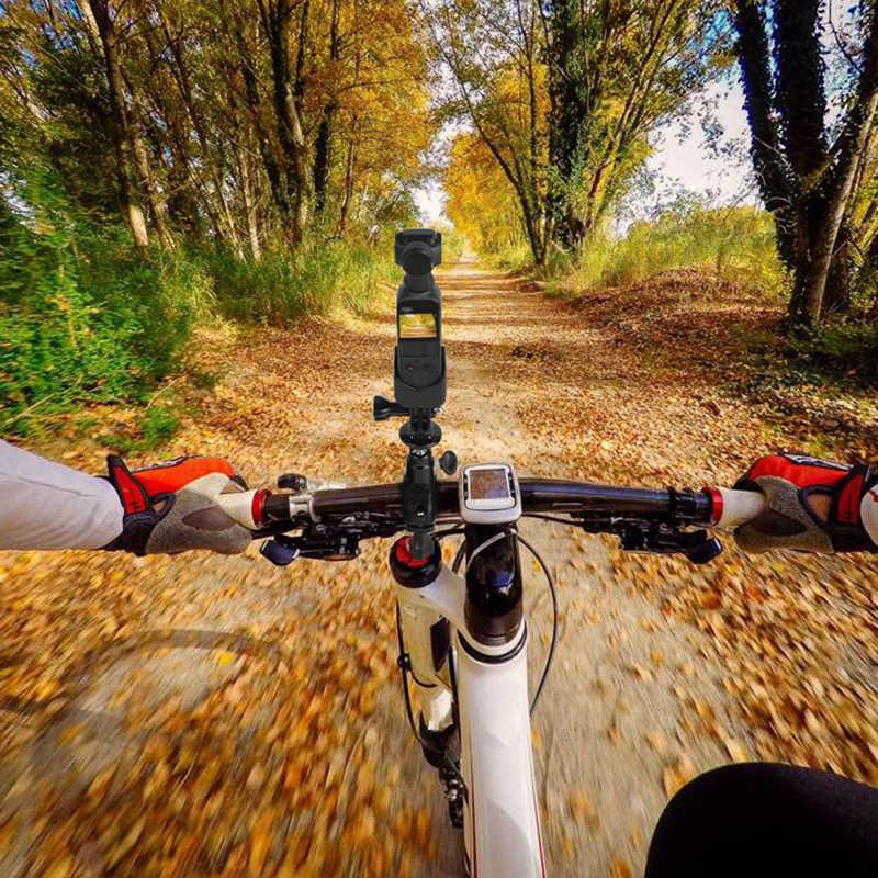 Велосипедный зажим велосипедный мотоцикл кронштейн адаптер камеры для DJI OSMO Карманный ручной карданный аксессуар
