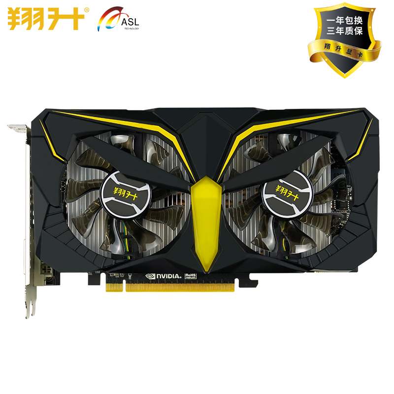 New Graphics Card ASL GTX1060 3G GDD5 War eagle 192bit Video Cards for nVIDIA Geforce GT 1060 Hdmi Dvi game image