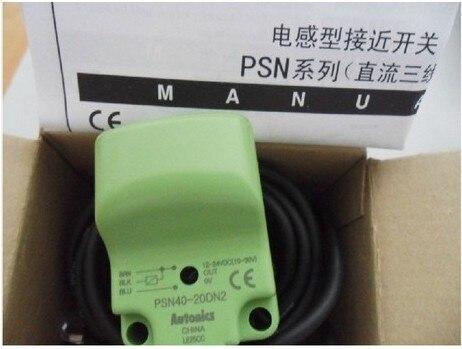 Индуктивный PSN40-20DN расстояние обнаружения 20 мм DC6-36V Autonics же тип