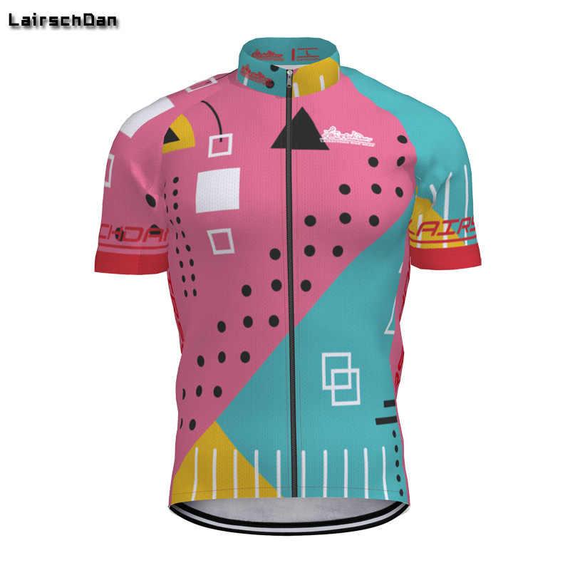 SPTGRVO Lairschdan 2019 розовая велосипедная рубашка Мужская/Женская Ropa Ciclismo летняя футболка с коротким рукавом для горного велосипеда, забавная велосипедная одежда