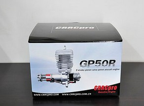 CRRCpro GP50R 50cc Gas Engine/Petrol Engine for RC Airplane with Walbro Carburetor