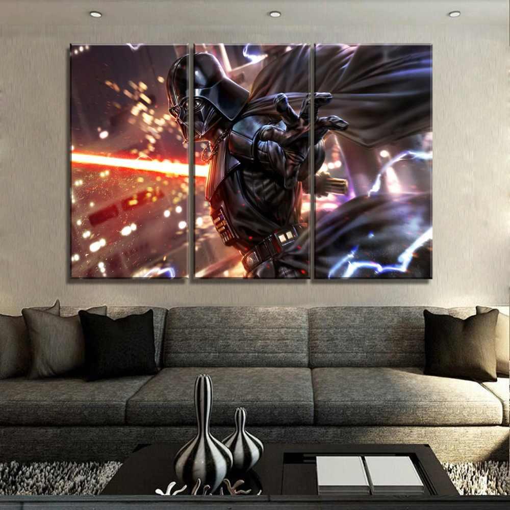 映画スターウォーズ剣戦闘機絵画現代の家庭装飾寝室 1 パネル印刷タイプと壁にアートワーク