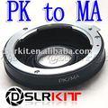 Pentax PK Lente para Minolta Adaptador de Montaje MA Alfa