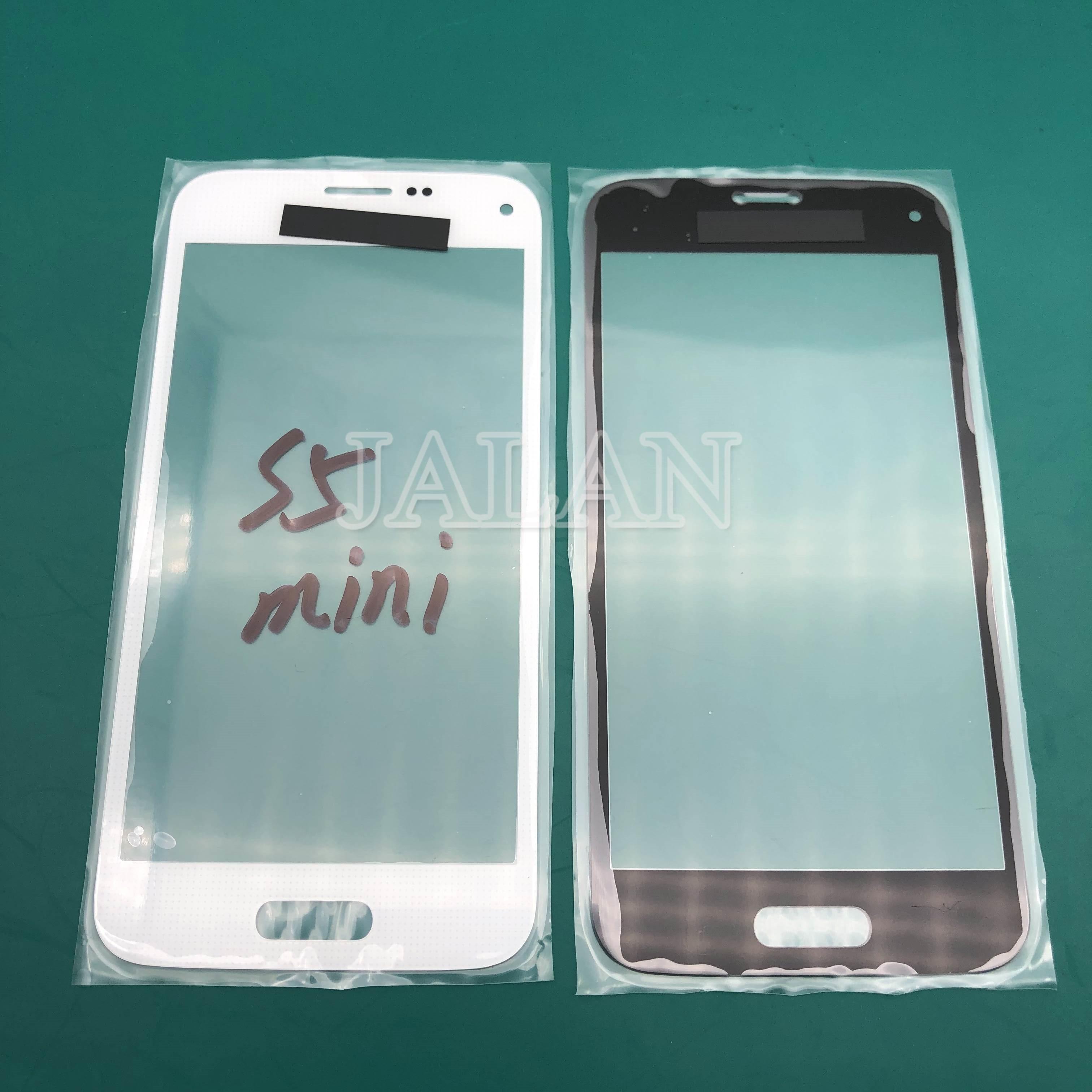 Jalan 5 Pcs untuk SM S5/S5 Mini/S5 Neo Depan Kaca Touch Panel G800 G900 G903 Retak kaca Pengganti Touchscreen Perbaikan