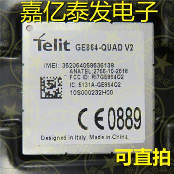 JINYUSHI dla GE864-QUAD V2 2G 100 nowy i oryginalny oryginalny dystrybutor magazynie GSM GPRS wbudowany quad-band moduł 1 sztuk darmowa wysyłka tanie i dobre opinie Wewnętrzny wireless Zdjęcie EDGE
