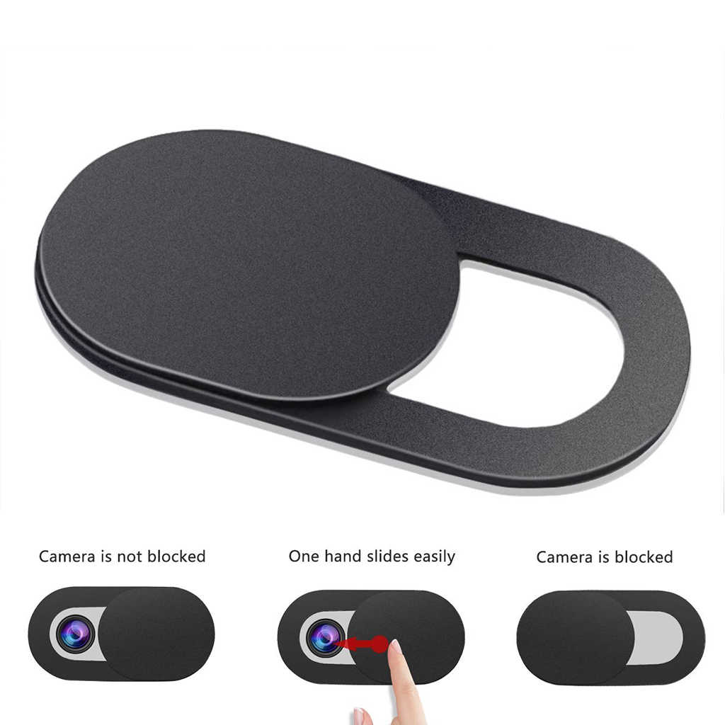 sports shoes ec161 ac933 WebCam Camera Cover For iPhone XS MAX XR 8 7 6 1Pc Magnet Slider Privacy  Protection Sticker For Laptop Screen Protector Hot Sale