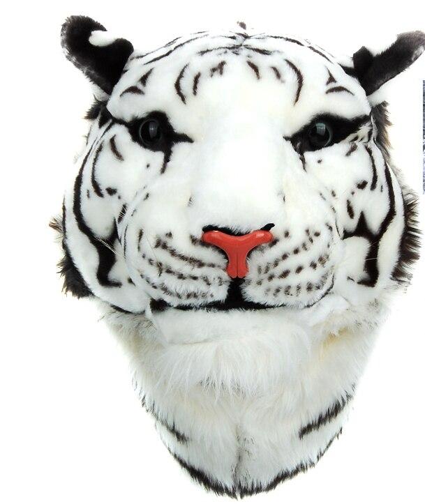 2017 3D Tête de Tigre Sac À Dos Animal de Bande Dessinée Lion Sacs Blanc Femmes Hommes Casual animal Sac À Dos mochilas