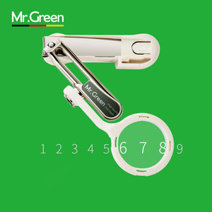 Image 4 - MR. GREEN الكبار حزام مسمار المقص مع المكبر للرجل العجوز المتقدمة الراتنج المسنين تو و إصبع مقص سكين