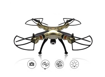 Syma X8HC Professional Drone With 2MP HD Camera 2.4G 4CH 6Axis Altitude Hold Headless Mode RC Quadcopter RTF