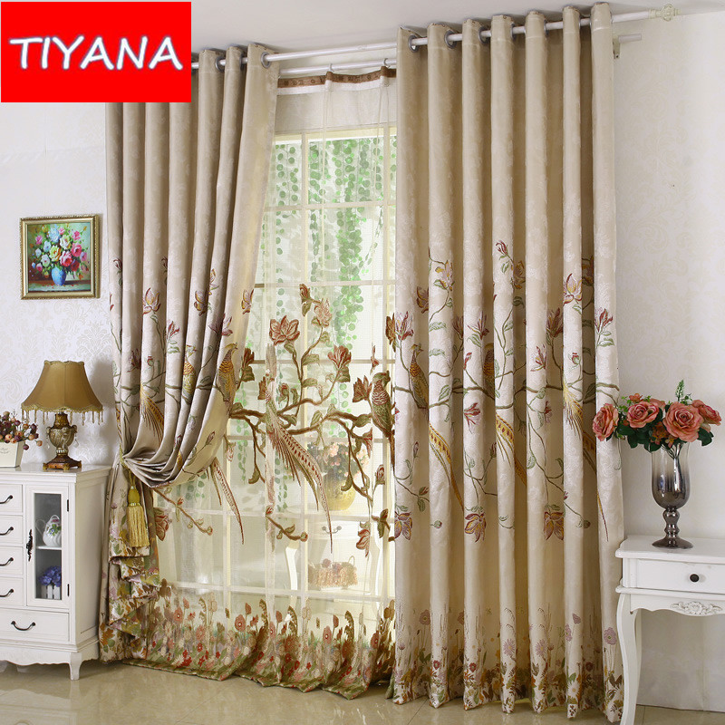 High Window Curtains: High Grade Luxury Window Curtains For The Living Room