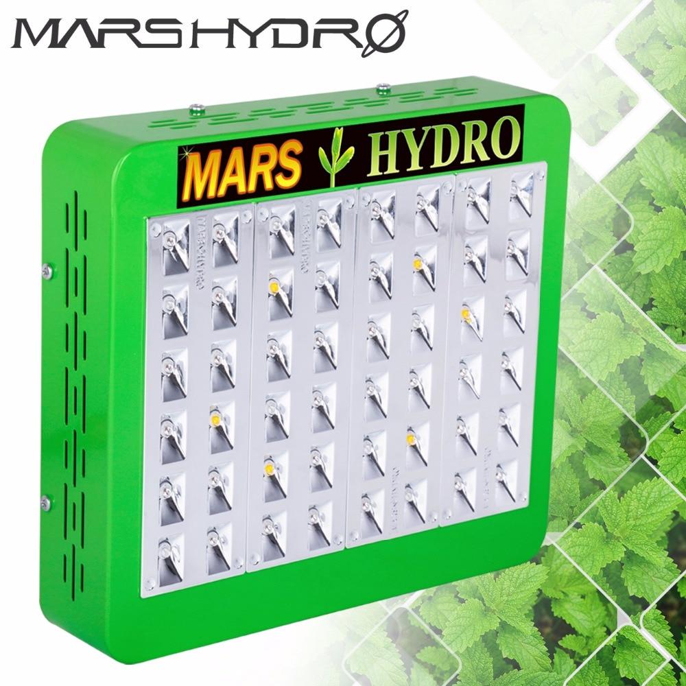 Mars Hydro LED Grow Light Reflector240W Full Spectrum led lamp for grow tent, 2 year warranty