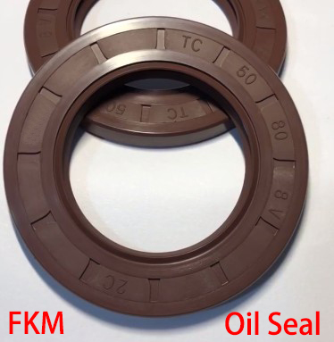20*42*7/8 20x42x7/8 20*47*7/8 20x47x7/8 Brown Fluoro FKM Fluorine Rubber Spring Two Lip TC Gasket Radial Shaft Skeleton Oil Seal