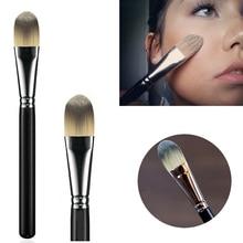 Liquid Foundation Face Brush Flat Foundation Cream Brush Blender Makeup Brushes Cosmetic Beauty Tool