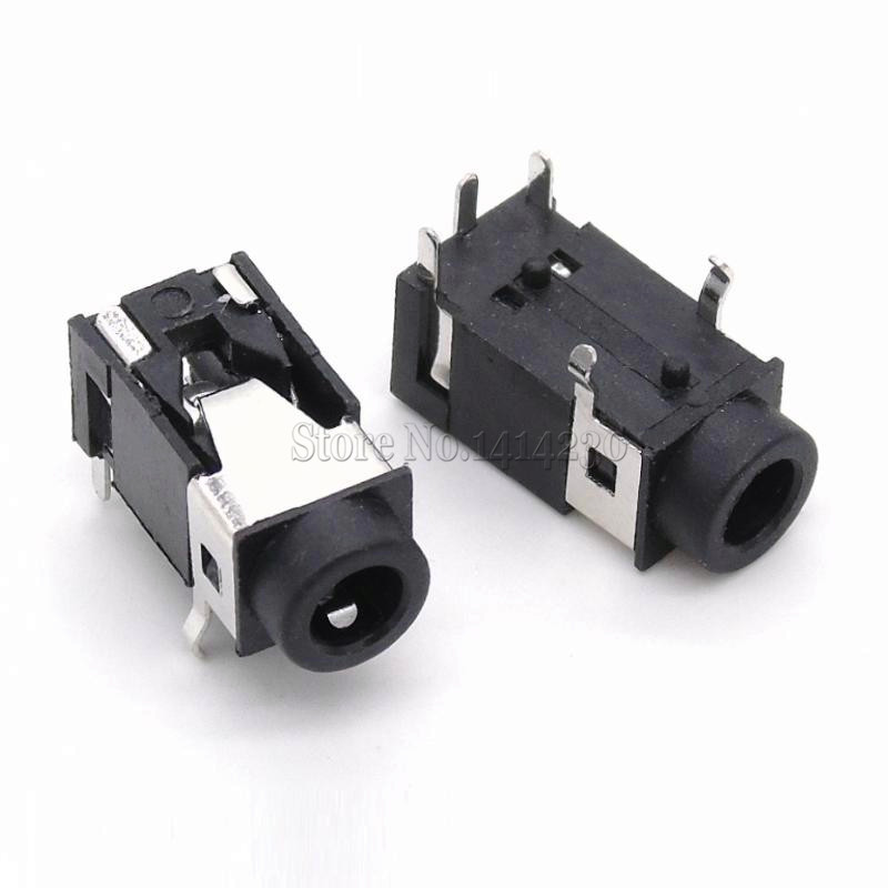 10Pcs Headphone Socket 3.5mm Audio Jack PJ-322 PJ322 5Pin