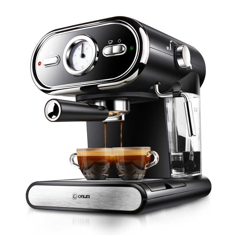 Donlim DL-KF5002 Espresso coffee machine Semi-automatic Coffee machine Steam type 20Bar donlim dl kf500 capsule coffee machine household espresso machine semi automatic commercial steam milk foam 20bar