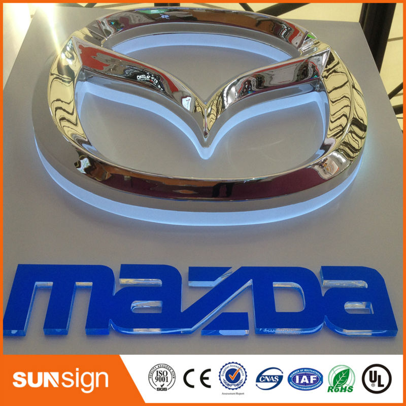 Aliexpresscom Buy Portable Electronic Car Brand Name Signs From - Signs of cars with names