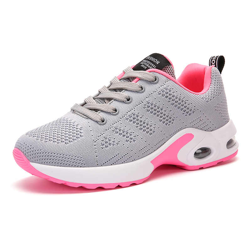Tenis feminino/Новинка 2019 года; женская мягкая спортивная обувь с подушками; Женская теннисная обувь; женские спортивные кроссовки; недорогие кроссовки