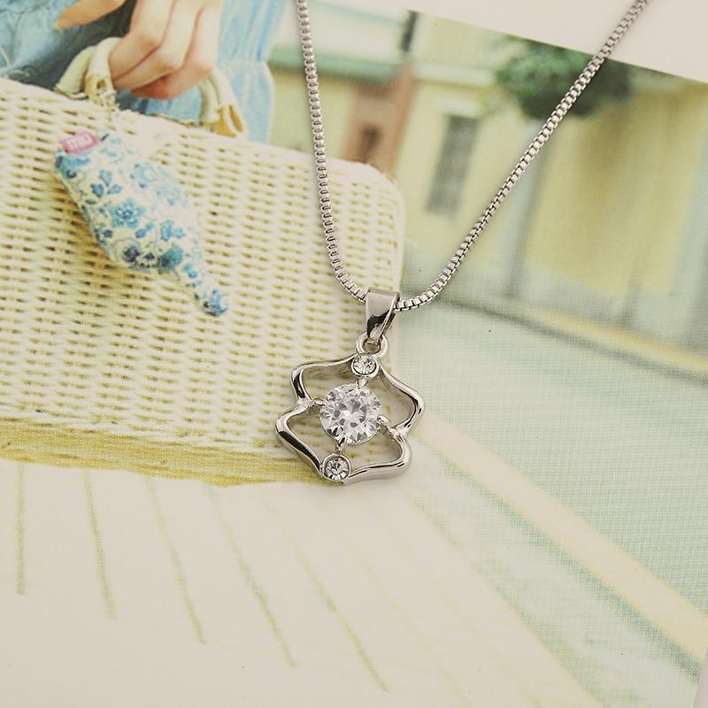 WAN JIE SHI PIN 12 konstelasi Pendant kalung Pendek inlay zircon - Perhiasan fashion - Foto 5